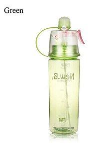 Garrafa De Água Com O Bocal Para (verde, 400ml) Plástico