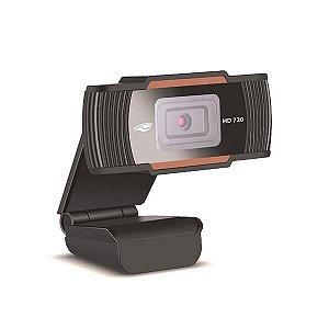 Webcam C3Tech HD 720P WB-70 Preto