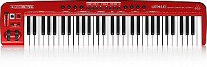 UMX610 Behringer - teclado controlador 61 teclas
