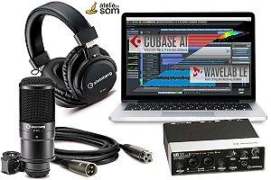 Ur22 MkII Recording Pack PROMO LANÇAMENTO (computador nao incluso)