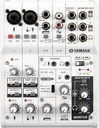 INTERFACE YAMAHA AG06 USB