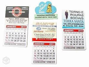500 mini calendário com imã