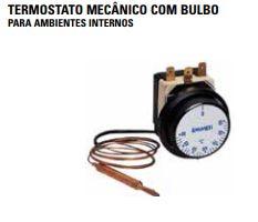 TERMOSTATO MECÂNICO COM BULBO PARA AMBIENTES INTERNOS EMMETI