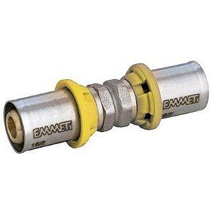 União Para Gás 26x26 mm  Prensar Emmeti
