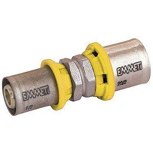 União Intermediária  Redução Para Gás   26 X 16mm  Prensar Emmeti