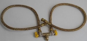 Kit para Instalação de Cooktop e Forno Gás Flex 1200MM