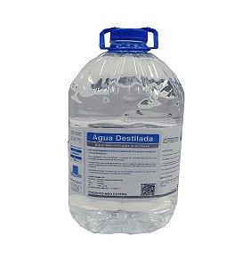 Água Desmineralizada 5 Litros Higclean