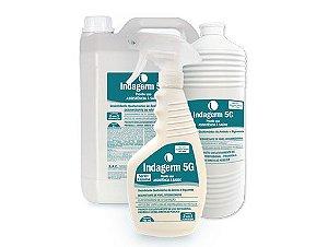Indagerm 5G  5Litros Desinfetante Hospitalar Quaternário Amônio + Biguanida