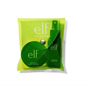 ELF SWEET 16 AS IF PRIME & SET (poreless Putty Primer21g + Makeup Mist & Set 60ml) produtos de tamanho regular
