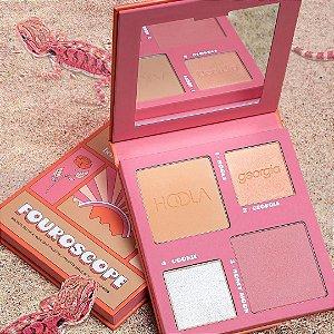 Benefit Cosmetics Fouroscope Earth Angel Bronze, Blush & Highlight Palette