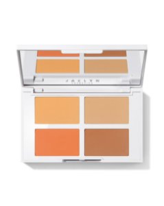 jaclyn cosmetics face it all brightening & setting palette TAN TO DEEP