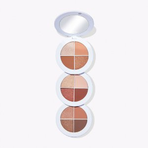 tarte lid, love, laugh Amazonian clay eyeshadow wardrobe Happiness paleta de sombras