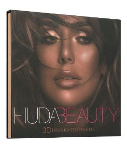 HUDA BEAUTY 3D Highlighter Palette - BRONZE SANDS
