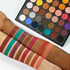 Bh Cosmetics Ultimate Matte Paleta de sombras (NOVO/SEM CAIXA)