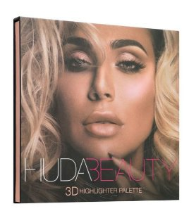 Huda Beauty 3D Hightlighter Palette – PINK SANDS