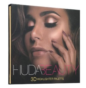 Huda 3D Highlighter Palette GOLDEN SANDS iluminador