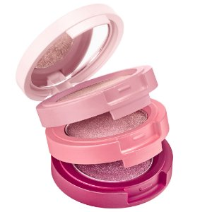 KAJA Beauty Bento Bouncy Shimmer Eyeshadow Trio 01 Rosewater