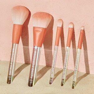elf retro paradise brush set 5 pincéis