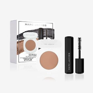 Marc Jacobs Beauty Bold Bronze, Major Mascara Travel-Size Bronzer 3,6g and Mascara 6g Duo
