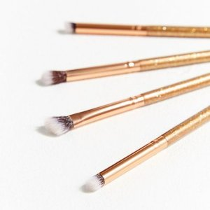 luxie premium synthetic handcrafted brushes 4 pincéis