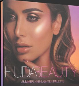 Huda 3D Highlighter Palette Summer Solstice