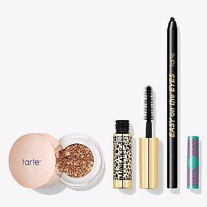TARTE go big or go chrome color collection (mini mascara 4ml + lápis de olho tamanho regular + sombra 3g)