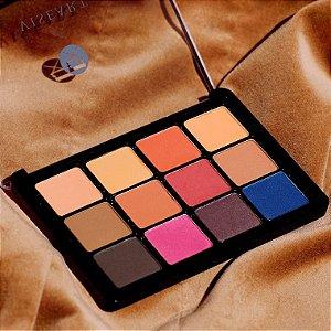 VISEART VPE14 Neutral Mattes Milieu SlimPro paleta de sombras