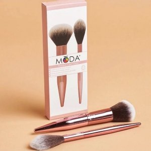 MŌDA® Limited Edition 2pc Powder & Soft Glow Kit pincéis