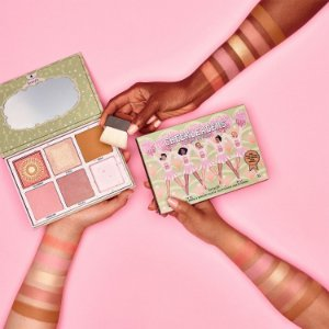Benefit Cosmetics The Cheekleaders Cheek Palette Pink Squad (NOVO/SEM CAIXA)