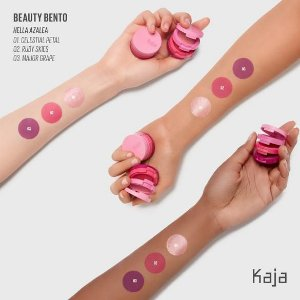 KAJA Beauty Bento Bouncy Shimmer Eyeshadow Trio 05 Hella Azalea