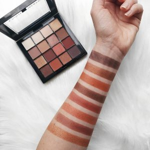 NYX ULTIMATE warm neutrals PALETA DE SOMBRAS