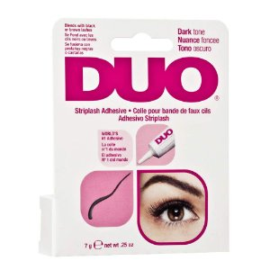 DUO Strip EyeLash Adhesive for Strip Lashes, Dark Tone 7g