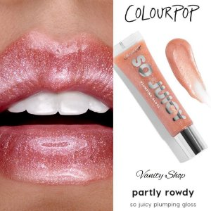 COLOURPOP SO JUICY partly rowdy gloss