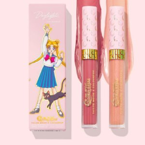colourpop daylight lip kit USAGI ULTRA BLOTTED LIP + MOON TIARA ULTRA GLOSSY LIP