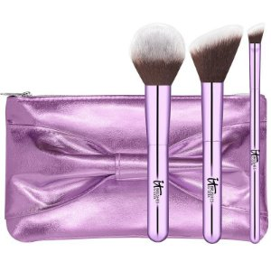 IT COSMETICS YOU DO IT ALL BRUSH SET 3 pincéis tamanho regular