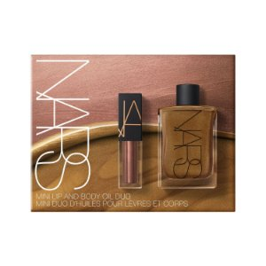 NARS Mini Lip Oil & Mini Body Glow Set