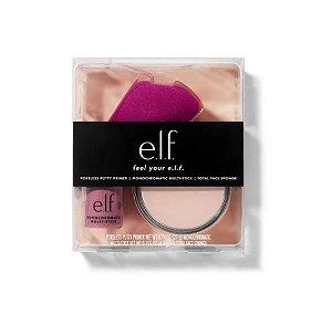 ELF FEEL YOUR E.L.F. KIT (Poreless Putty Primer 21g + Monochromatic Multi Stick in Sparkling Rose + Total Face Sponge)