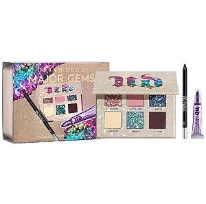 Urban Decay Major Gems Bespoke Set Eye Gift Set (paleta de sombras + lápis e primer tamanho regular)