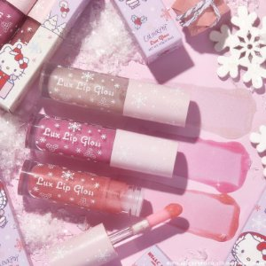 COLOURPOP HELLO KITTY and friends big surprise lux gloss kit (3 GLOSS labial)