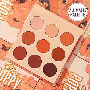 COLOURPOP big poppy paleta de sombras (novo/sem caixa)