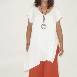 Blusa Campeche Viscolinho Branca