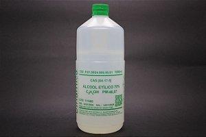 ALCOOL ETILICO 70% 1L PARA USO INDUSTRIAL (ETANOL)