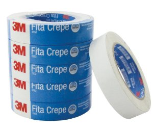 FITA CREPE 18MM X 50M USO INDUSTRIAL 6UN