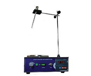 AGITADOR MAGNETICO COM AQUECIMENTO 5L 2400RPM 110V