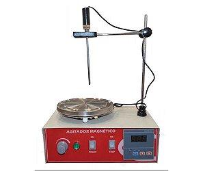 AGITADOR MAGNETICO COM AQUECIMENTO 10L 2400RPM 220V