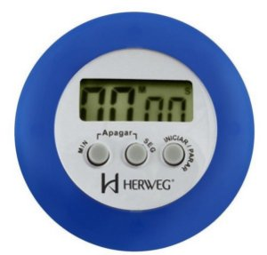 TIMER DIGITAL 99 MINUTOS AZUL HERWEG