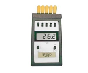 TERMOMETRO DIGITAL -40+1000ºC COM CHAVE PARA ATE 5 SONDAS TIPO K 1MT