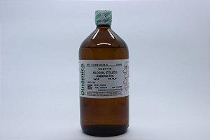ALCOOL ETILICO ANIDRO 1L (ETANOL)
