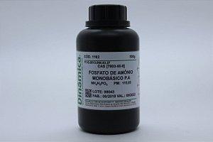 FOSFATO DE AMONIO MONOBASICO PA 500G DIFOSFATO