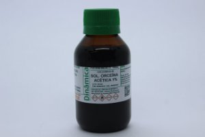 SOLUCAO ORCEINA ACETICA 1% 100ML *PF/SSP